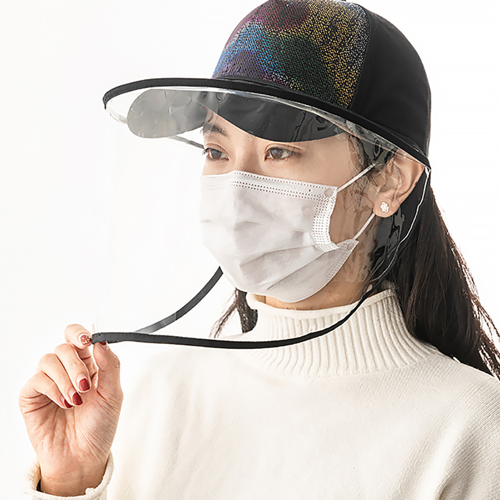 Protective Mask Anti-Virus Mouth Nose Protection Anti-Fog Splash-Proof Eye Protection Dust-Proof Cover
