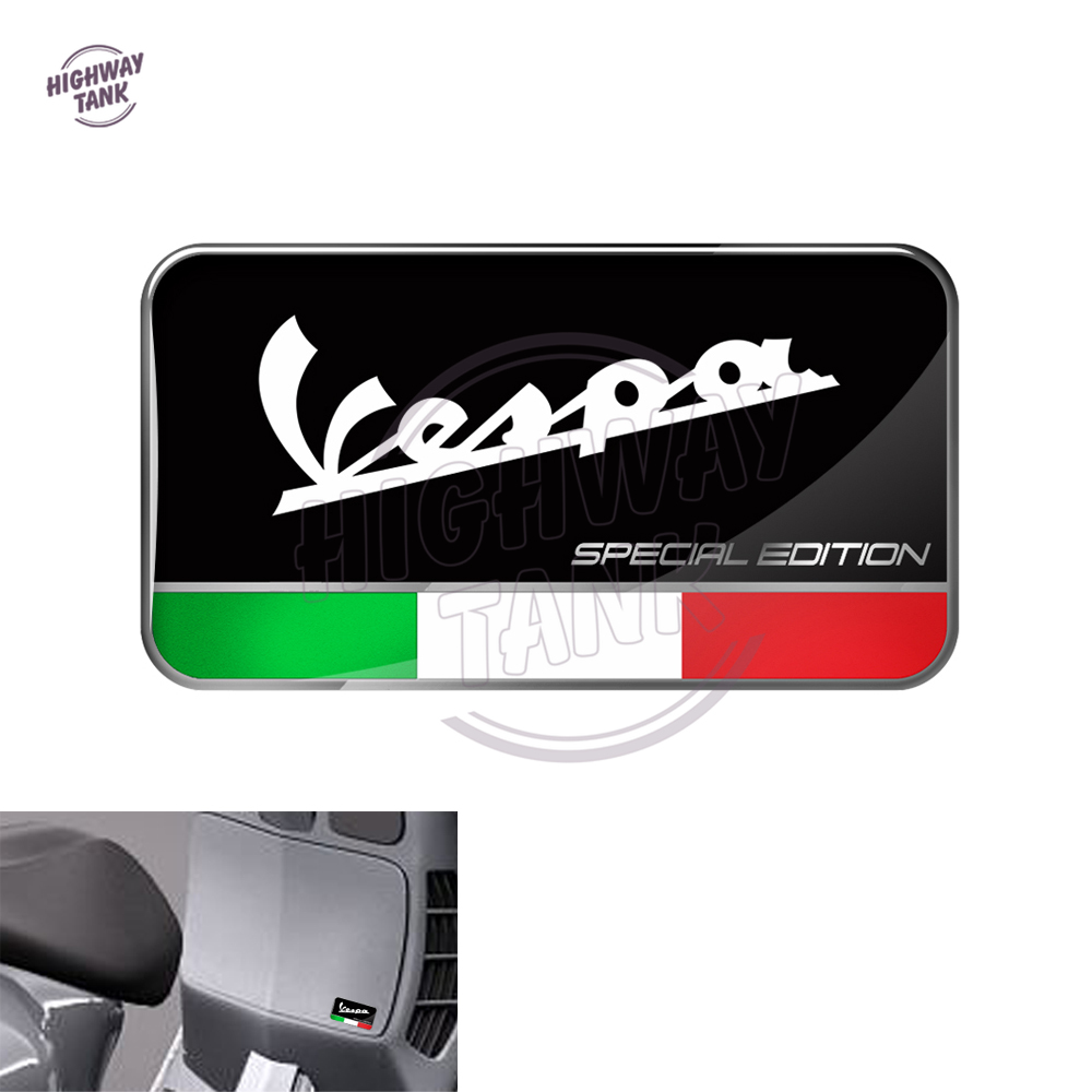 3D Motorcycle Decal Italy Flag Special Edition Decal Case For PIAGGIO VESPA GTS GTV LX Decals