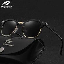 DIGUYAO – lunettes De soleil rondes pour hommes et femmes, marque De luxe, rétro pilote, monture métallique, tendance, 2020