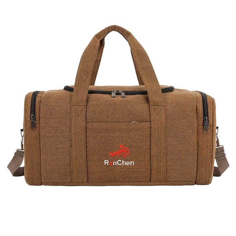 Canvas Men Travel Bags Large Capacity Travel Duffel Hand Luggage Bag Multifunction Weekend Bag Sac De XA193K