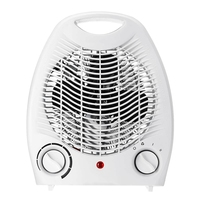 2000W Household Electric Fan Heater Three Heat Settings Warm Air Blower Automatic Overheat Protection with Flame Retardant Shell
