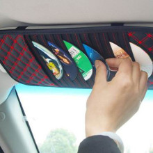 Sun Visor Auto Car Sunshade Sun Visor CD Card Glasses Holder tiguan Organizer Ba