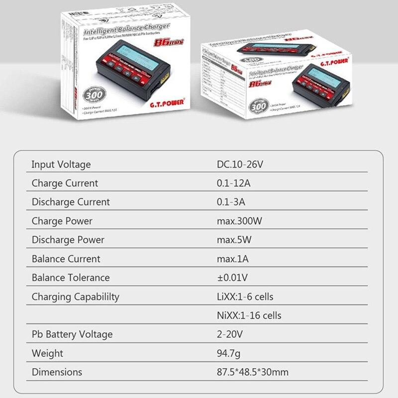 Купить балансирующее зарядное устройство gtpower imax b6 mini/зарядное