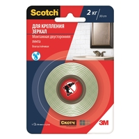 Adhesive mounting tape for mirrors 3M Scotch 19mmx1.5m