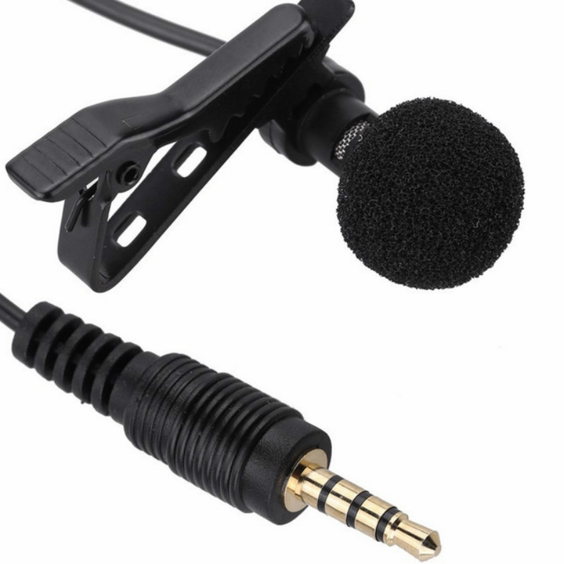 Lapel Mini Mobile Phone Microphone Recording K Xiaoge Computer Conference Radio Microphone Recording Interview Wheat Microphone