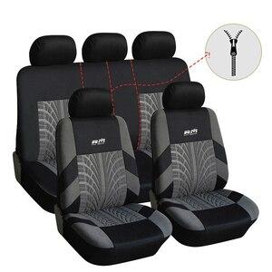 Set de funda de asiento de coche, accesorios de coche para Mitsubishi Space Star ASX Eclipse Cross Outlander Carisma L200, cubiertas para automóvil