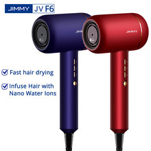 JIMMY – sèche-cheveux électrique Portable F6, 220V, 1800W, technologie Nano ultrasonique, séchage rapide des cheveux, Ion négatif, réduction du bruit