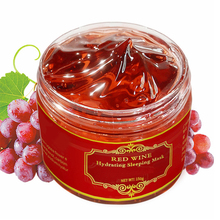 цена на PF79 Red Wine Polyphenols Sleeping Mask Moisturizing Night Cream 150g Facial Mask Nutrition Antioxidation Brighten Mask Mud
