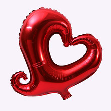 18 inches Heart shape Aluminum film balloon Wedding party Confession Photography props Scene layout