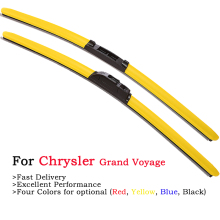 HESITE Color Windshiel Wiper Blades For Chrysler Grand Voyager 3 4 Dodge Caravan 1994 1999 2000 2001 2005 2019 Frameless Wipers fuel pump module assembly for 1996 2000 chrysler voyager town country dodge caravan plymouth voyager e7094m ty 122a