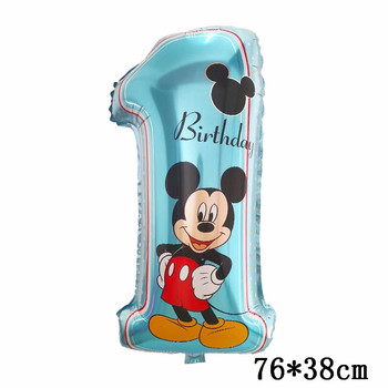 Giant Mickey Minnie Mouse Balloons Disney cartoon Foil Balloon Baby Shower Birthday Party Decorations Kids Classic Toys Gifts 29