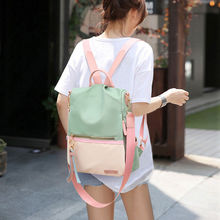 Large Capacity Women Backpacks Famous Brand Solid School Bag For Teeanger Girls Fashion Anti-theft Ladies Backpacks 2020