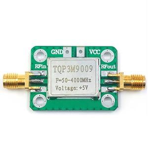 Image 1 - 50 4000MHz Gain 21.8dB RF Low Noise TQP3M9009 LNA Amplifier Board Signal Receiver Module 5V with shield