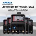 ANDELI Inverter TIG-250P Digital AC/DC Pulse TIG Welder with MMA Aluminum Welding Machine TIG Welding Machine