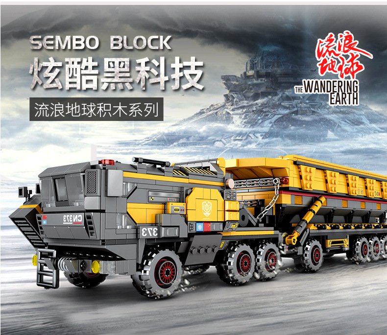 IN STOCK 107006 1535pcs creator Technic Movie series Cargotruck-Iron OreTruckl Building Blocks Brick Kids Toys Christmas Gift