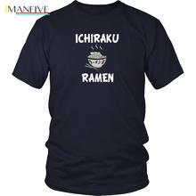 Naruto Shirt  Ichuraku Ramen T-Shirt - Anime T-ShirtFree shipping Harajuku Tops t shirt Fashion Classic
