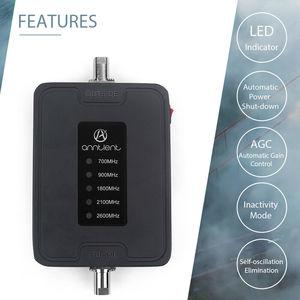 Image 2 - 2G 3G 4G נייד אותות בוסטרים 700/900/1800/2100/2600MHz טלפון אות מהדר מגבר LTE משחזר עבור RV/רכב/סירת להשתמש