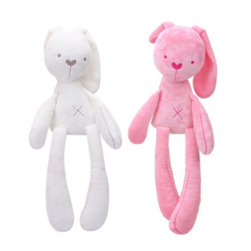 NEW Cute Rabbit Doll Baby Soft Plush Toys For Children Bunny Sleeping Mate Stuffed &Plush Animal Baby Toys For Infants