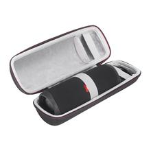 EVA przenośne pudełko na podróż Case dla JBL Flip 5 Zipper Sleeve twarde etui ochronne pokrywa dla przenośne głośniki jbl Flip 5 Flip5 Case tanie tanio Przypadkach Głośnikowych Case forJBL Flip 5 Waterproof Bluetooth Speaker 19072501 Black Black Gray 265*85*85mm 185g
