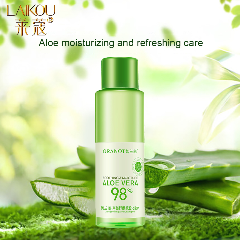 LAIKOU Aloe Face Tonic Hydration Facial Toner Skin Care Products Pore Minimizer Oil Control Makeup Water  Face Toner Skin Care