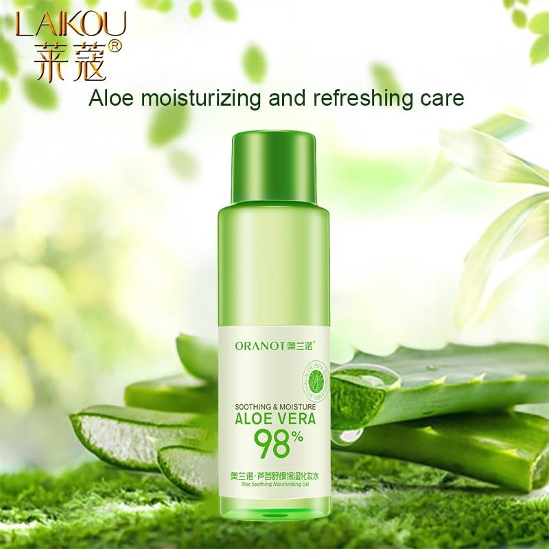 LAIKOU Aloe Face Tonic Hydration Facial Toner Skin Care Products Pore Minimizer Oil Control Makeup Water  Face Toner Skin Care