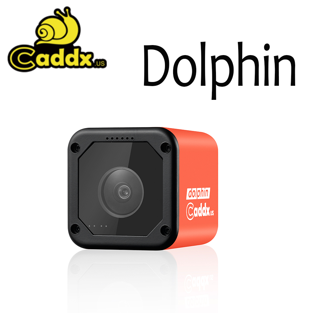 NEW Caddx Dolphin 1080P DVR Recording Wifi FPV Camera Action Sport Cam For RC Drone FPV Racing Airplane Quadcopter image