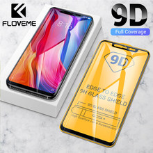 FLOVEME Tempered Glass For Xiaomi Redmi Note 7 6 8 Pro 5 Screen Protector For Xiaomi Mi 9 8 Lite Pocophone f1 9H Protective Film(China)