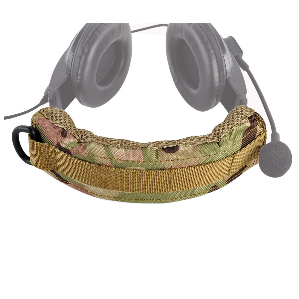 Hunting Headset Cover Advanced Modular Headset Cover Molle Headband For General Tactical Earmuffs