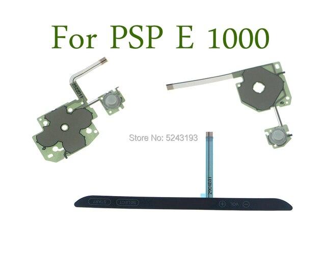 Oryginalny nowy na psp E kierunek wymiany przycisk krzyżowy lewy klawisz głośność prawa klawiatura Flex Cable dla Sony PSP E 1000 PSP E1000