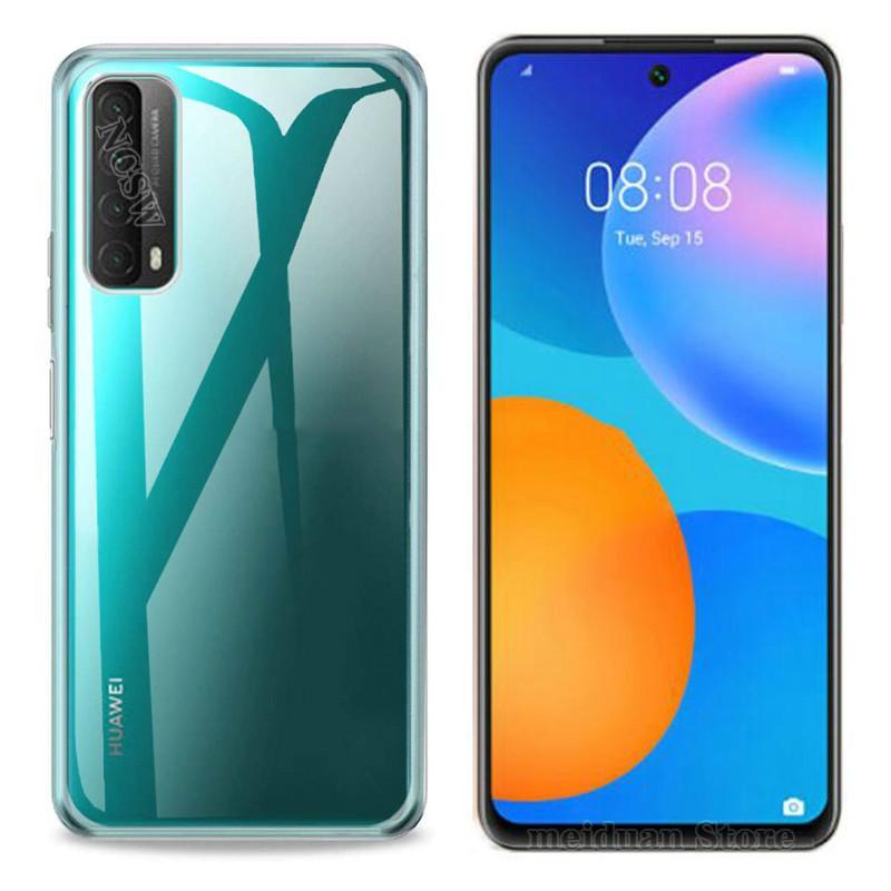Чехол для Huawei P smart 2021 Honor 30 20 20S, мягкий прозрачный чехол из ТПУ для Huawei P40 Lite Mate40 Pro Y7A Y6P Y5P Nova 8SE