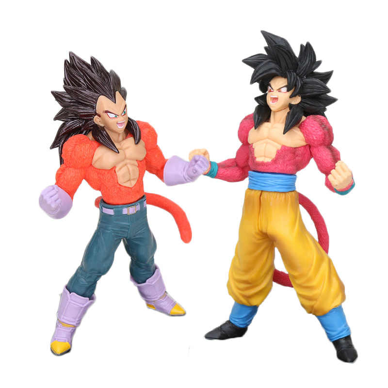 20 centímetros Dragon Ball GT Super saiyan Vegeta Gogeta Action Figure do Sangue De Saiyans Especial II figura de Ação DO PVC Brinquedos modelo