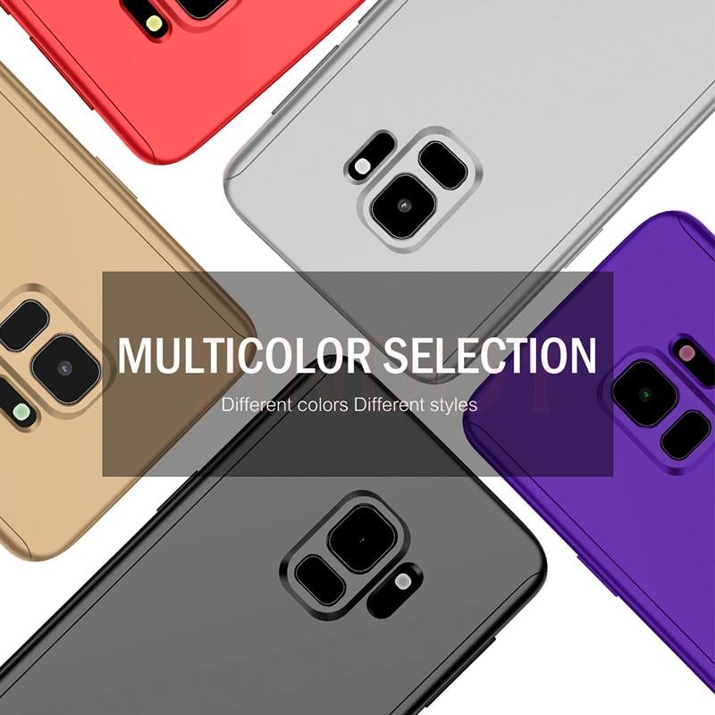 Funda completa para teléfono Samsung Galaxy, carcasa 360 a prueba de golpes para Samsung Galaxy S10, S9, S8 Plus, S20, A50, A51, Note 10 Plus, 8, 9 6