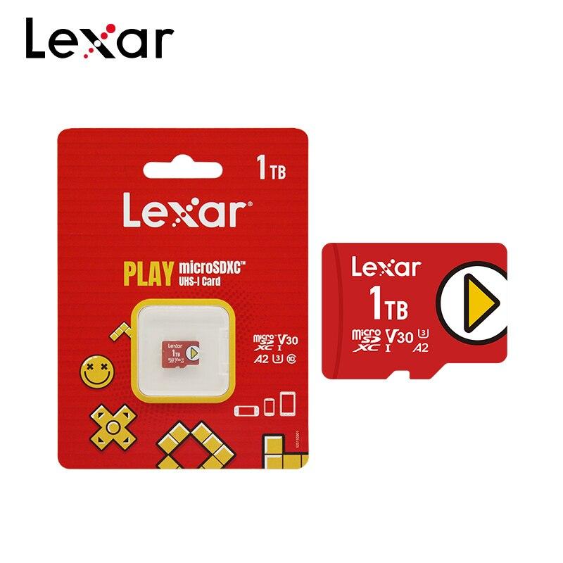 Original Lexar Play Micro SD 1TB SDXC V30 A2 TF Card High Speed Trans Flash Memory Card Microsd For Phone/Tablet 4