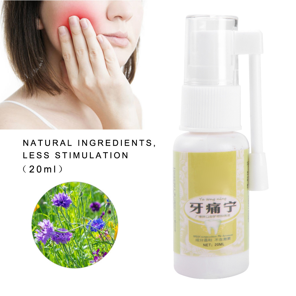 Oral Care Tooth Prevent Toothache Pain Relief Oral Moisturizer Toothache Bad Breath Treatment For Mouth Care Tool Tooth