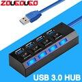 Высокоскоростной usb-хаб 3,0 USB сплиттер, мульти USB 2,0 концентратор, несколько 4/7 портов, разветвители для ПК, компьютерные аксессуары