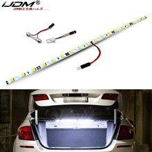 IJDM-tira de luces LED CANbus T10 W5W, sin errores, Compatible con iluminación Interior, área de carga, maletero, Audi, BMW, Ford, etc.