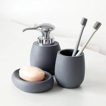 Набор аксессуаров для ванной комнаты держатель зубных щеток