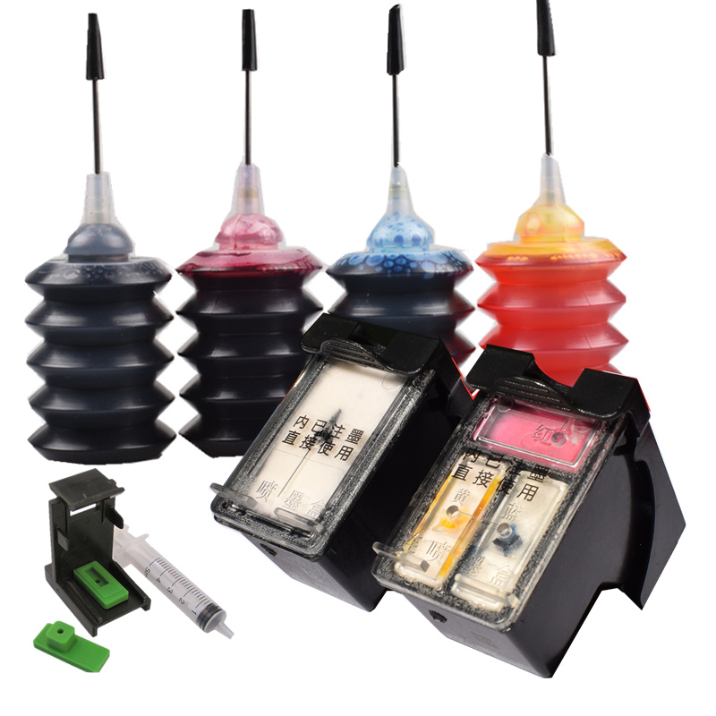 Kit di ricarica di inchiostro per HP 650 XL HP650 cartuccia di inchiostro di Ricambio Per HP Deskjet 1015 1515 2510 2515 2545 2540 2645 3515 4645 4530