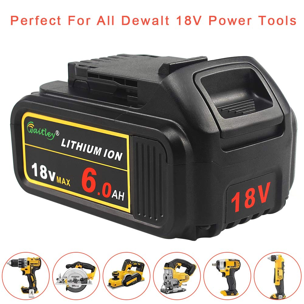 bateria compatível com dewalt 18 volts max