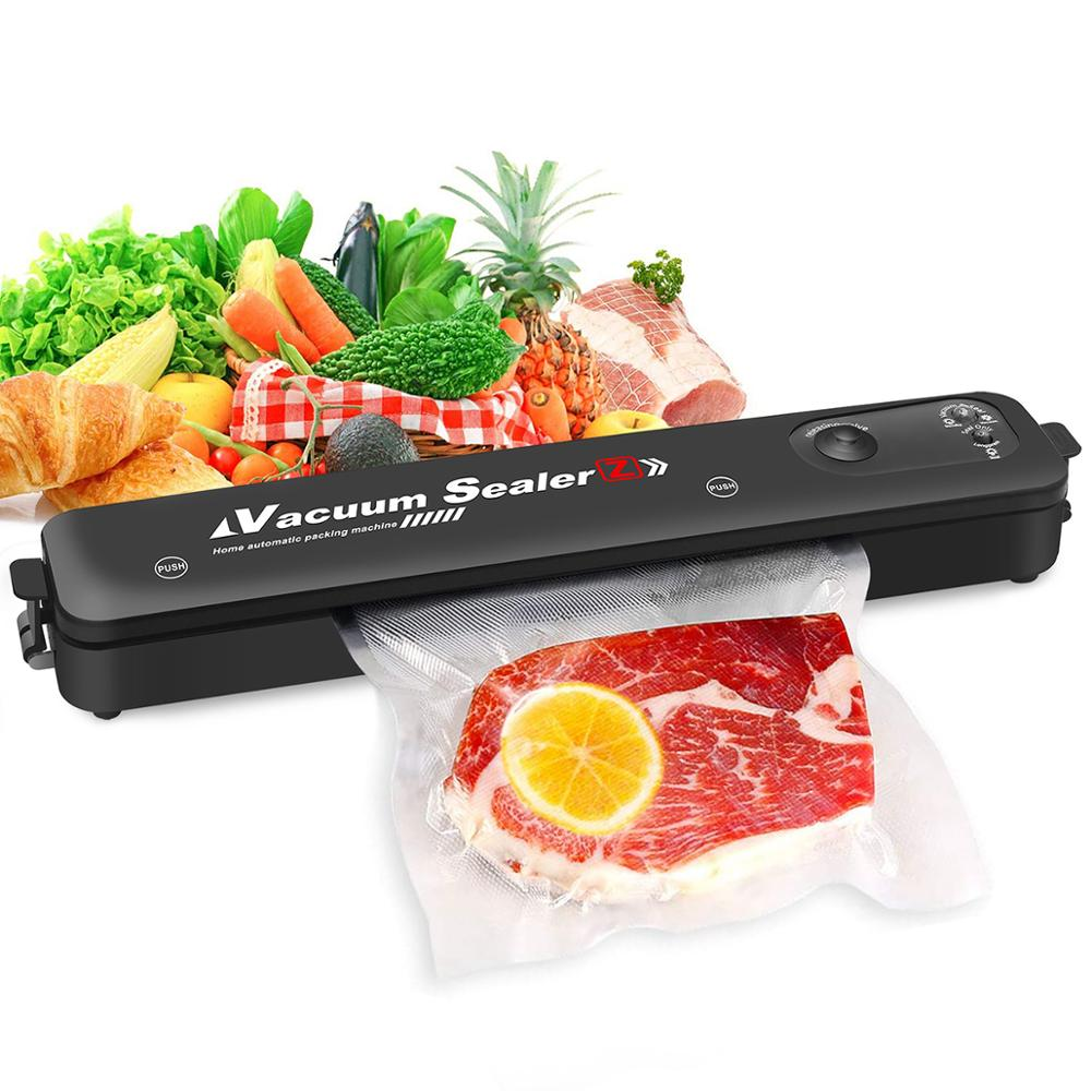 220V/110V Vacuum Sealer Machine Automatic Food Sealer for Food Savers Dry & Moist Modes Compact Design Vacuum Packing Machine