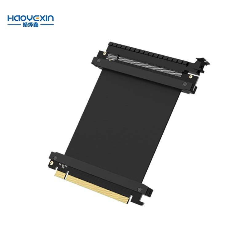 Высокоскоростные компьютерные графические карты PCI Express соединительный кабель карта расширения PCI-E X16 3,0 гибкий кабель удлинитель адаптер