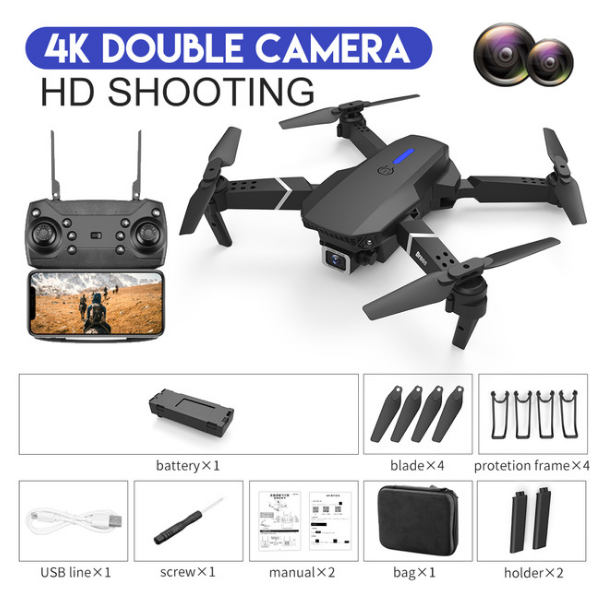 DualCamera 4K Black