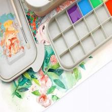 Storage-Box Buckets Paint-Brush Oil-Painting Washer with Palette Drying-Tool for Watercolor
