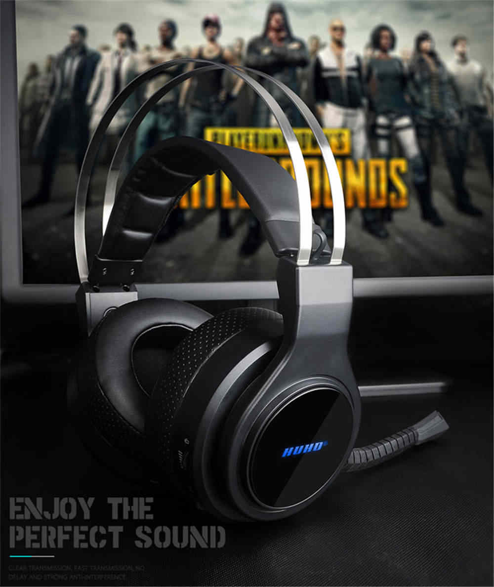 Gaming Headset For Nintendo Switch Ps4 Pc Wireless 2 4ghz Noise Canceling Headphones Virtual 7 1 Surround Sound Pc Wireless Aliexpress