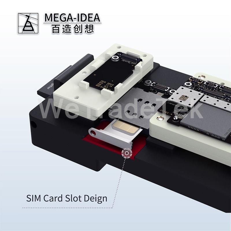 Tools : Qianli Mega-idea Phone X-11ProMax Motherboard Fixture iSocket Jig Logic Board Fast Test Fixture Holder for Mainboard Repair