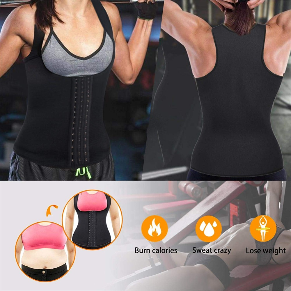 Women Waist Trainer girdles slimming belt Waist Corset Neoprene Shaperwear Push Up Vest Tummy Belly Girdle Body Shaper  (11)