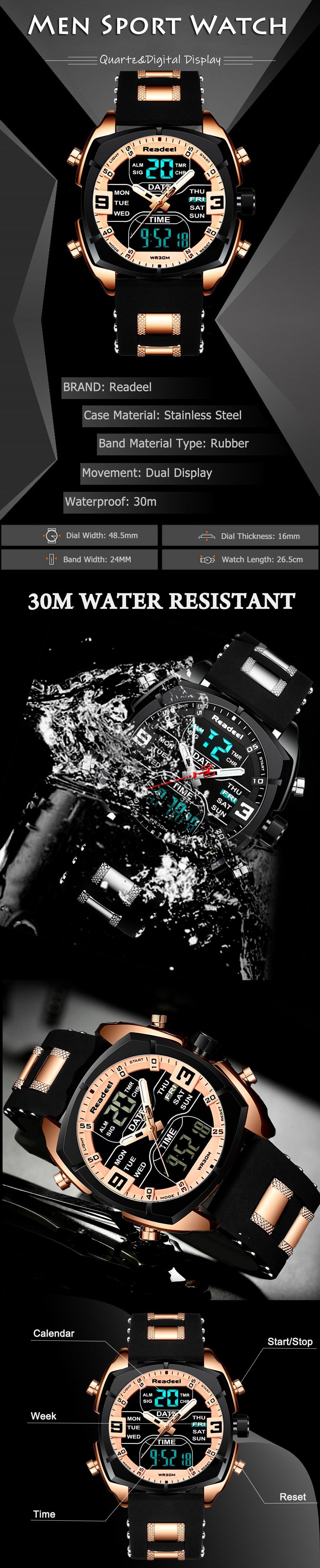 H2281947eac514c4d8b0233cca8ff4bbdo Mens Watches Luxury Brand Men Sports Watches Men's Quartz LED Digital Clock Male Rubber Military Wrist Watch Relogios Masculinos