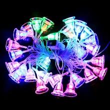 8M Battery Waterproof Fairy Garland LED Ball Decorative String Lights For Christmas Tree Wedding Home Indoor Decoration Navidad