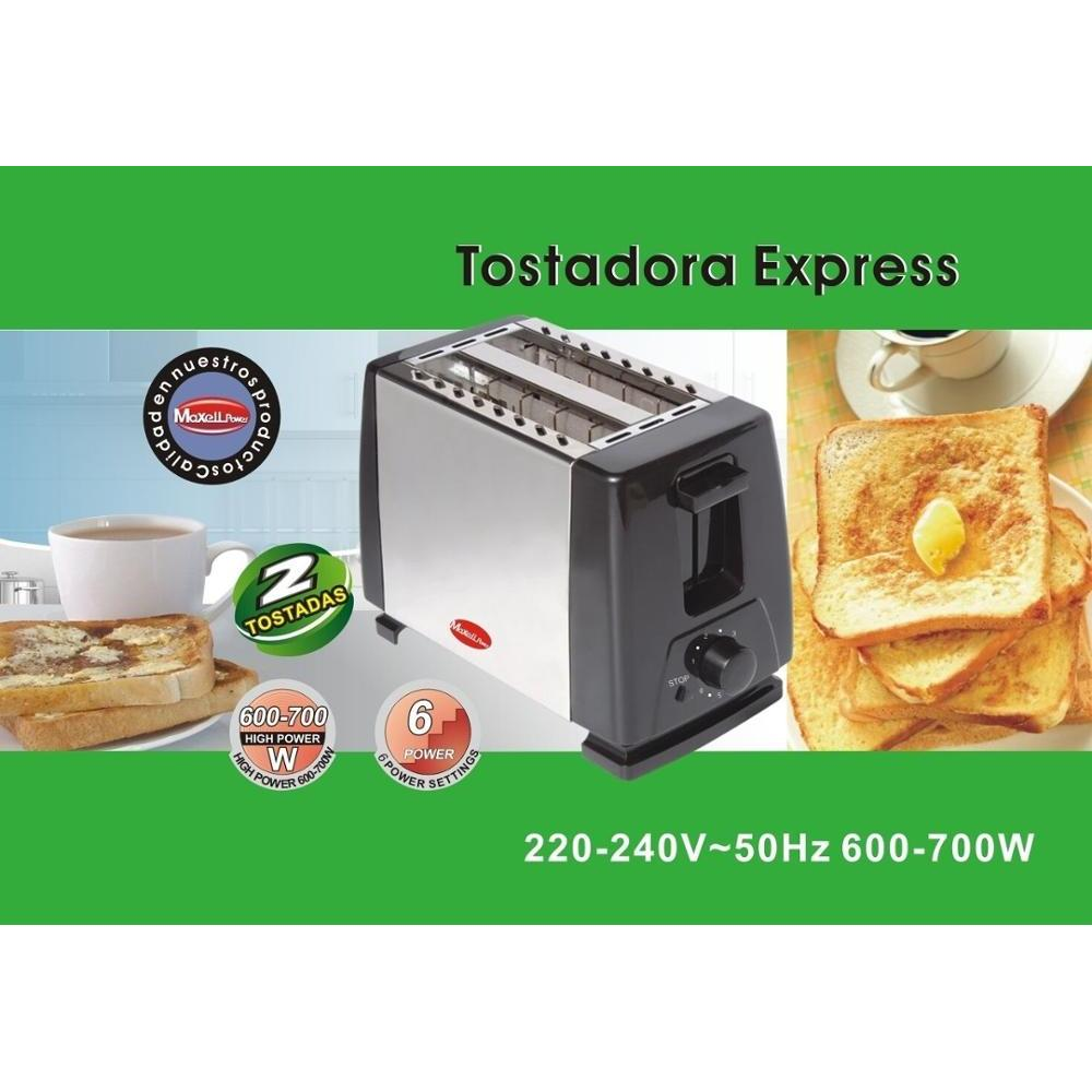 TOASTER ELECTRIC TOASTER 2 SLICES METAL EXTRA REINFORCED GOOD QUALITY MP-3324