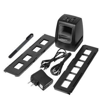 "High Fast Photo Printe Resolution Photo Scanner 35mm/135mm Slide Film Scanner Digital USB Film Converter 2.36"" LCD screen|Scanners|   -"